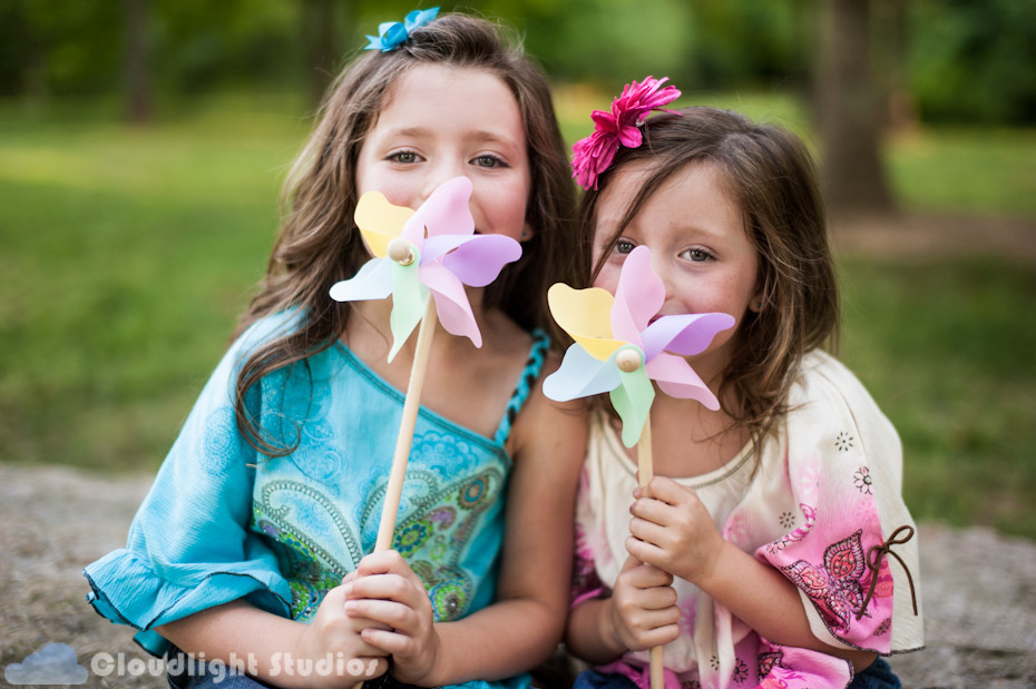 Kids Pinwheel Photos