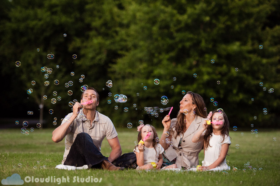 Family Photography Bubbles Nashville