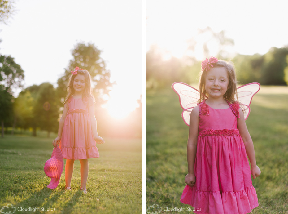 Sunset Children Portraits