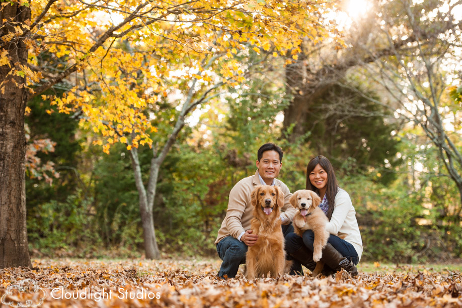 Golden Retriever Nashville Family and Pet Photography