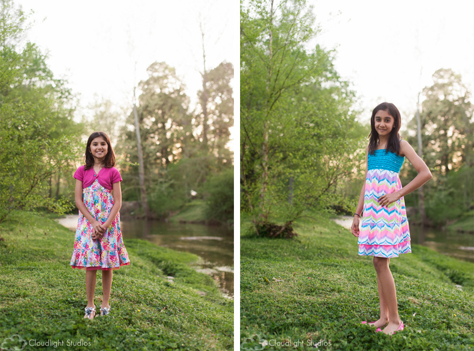 Sunset Children Portraits in Nashville